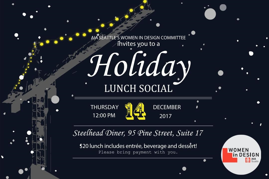 Please join the Women in Design to engage and network over lunch!