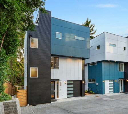 CONE Architecture Townhomes Northgate 14th Ave Seattle