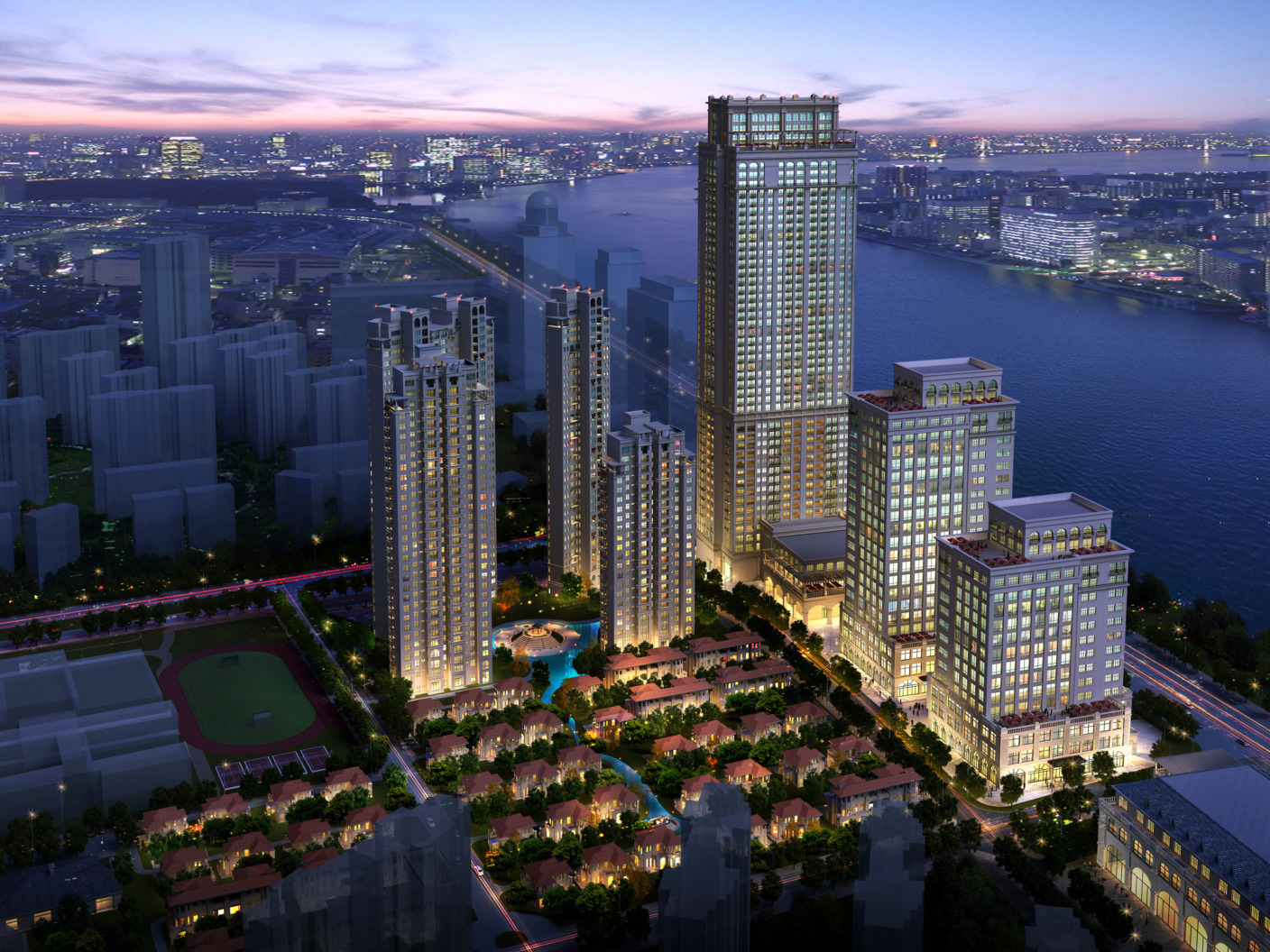 Marriott Nanchang Hotel + Mixed Use Development