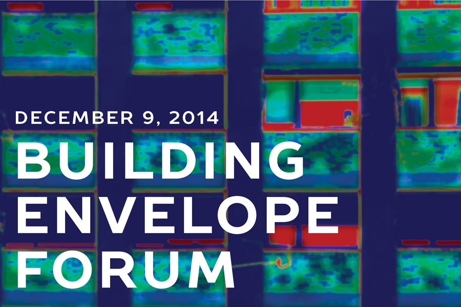 This page is intended only for participants of the 2014 Building Envelope Forum.