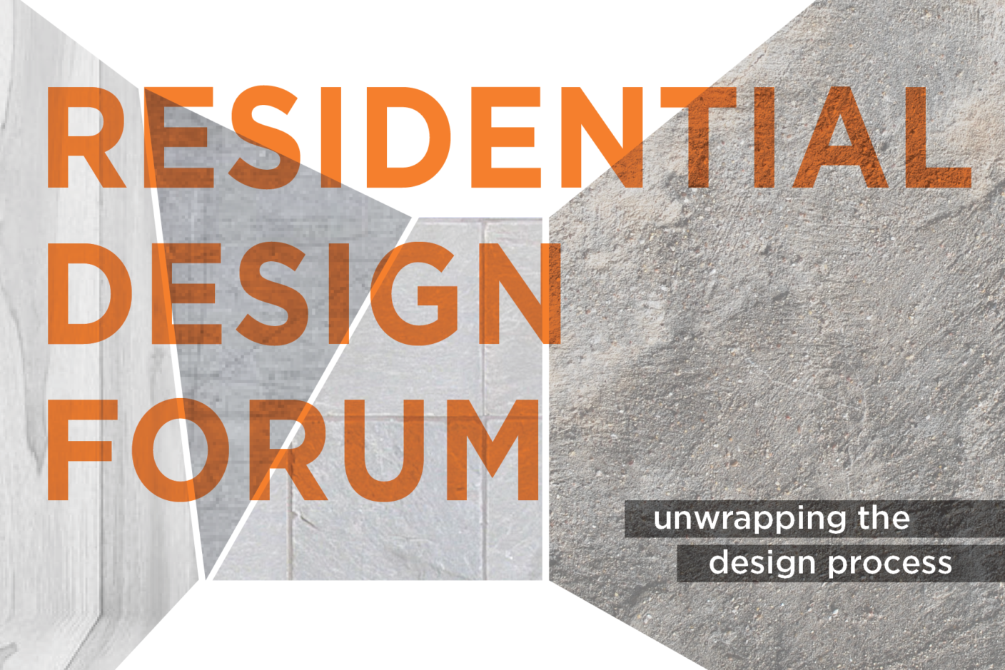Residential Design Forum graphic
