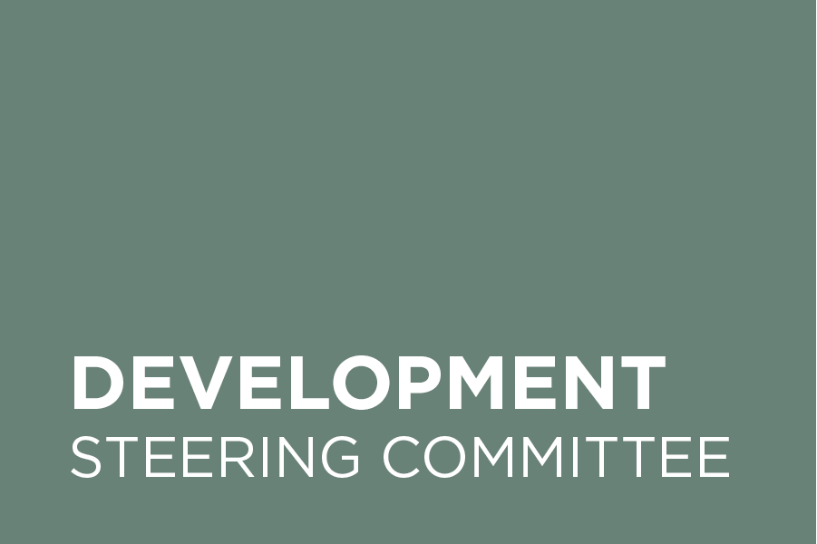 The Development Steering Committee drives the chapter's annual sponsorship campaign, which supports our annual budget and programming.