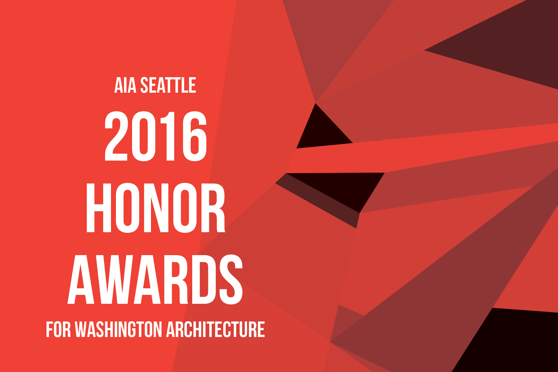 The AIA Seattle Honor Awards are the ideal platform to recognize the diverse perspectives, scales and typologies that encompass the practice of architecture in our region.