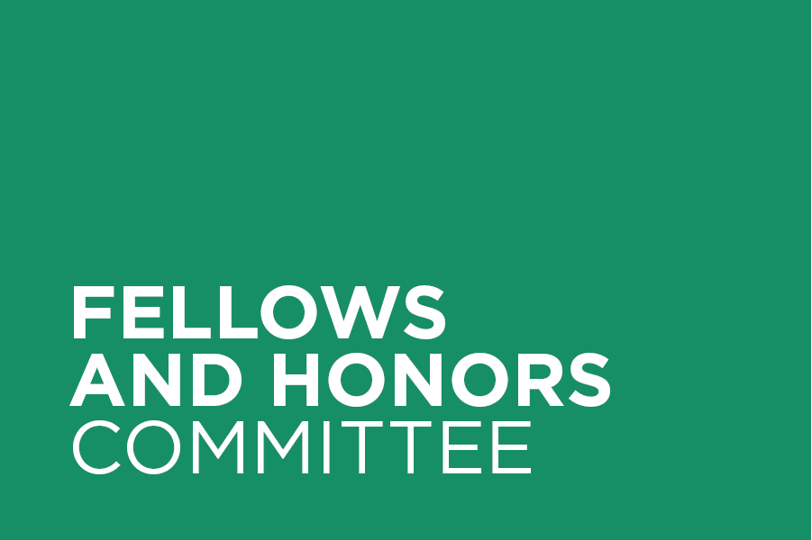 The Fellows and Honors Committee nominates individuals for chapter, regional, and national awards, and proposes and supports candidates for the AIA College of Fellows.