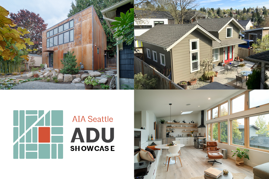 AIA Seattle's 2020 public ADU Tour has been cancelled, but we're moving the tour online by creating an ADU Showcase featuring AIA member built projects.