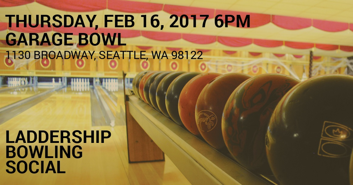 Please join AIA Seattle Laddership for the annual winter bowling event!