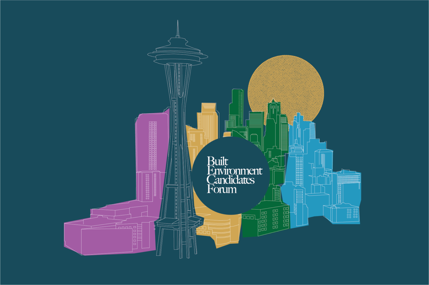 Seattle's primary elections for mayor and City Council seats 8 and 9 will be held via mail-in ballot on August 3. Join us for two candidate forums to hear the candidates' positions on built environment issues.