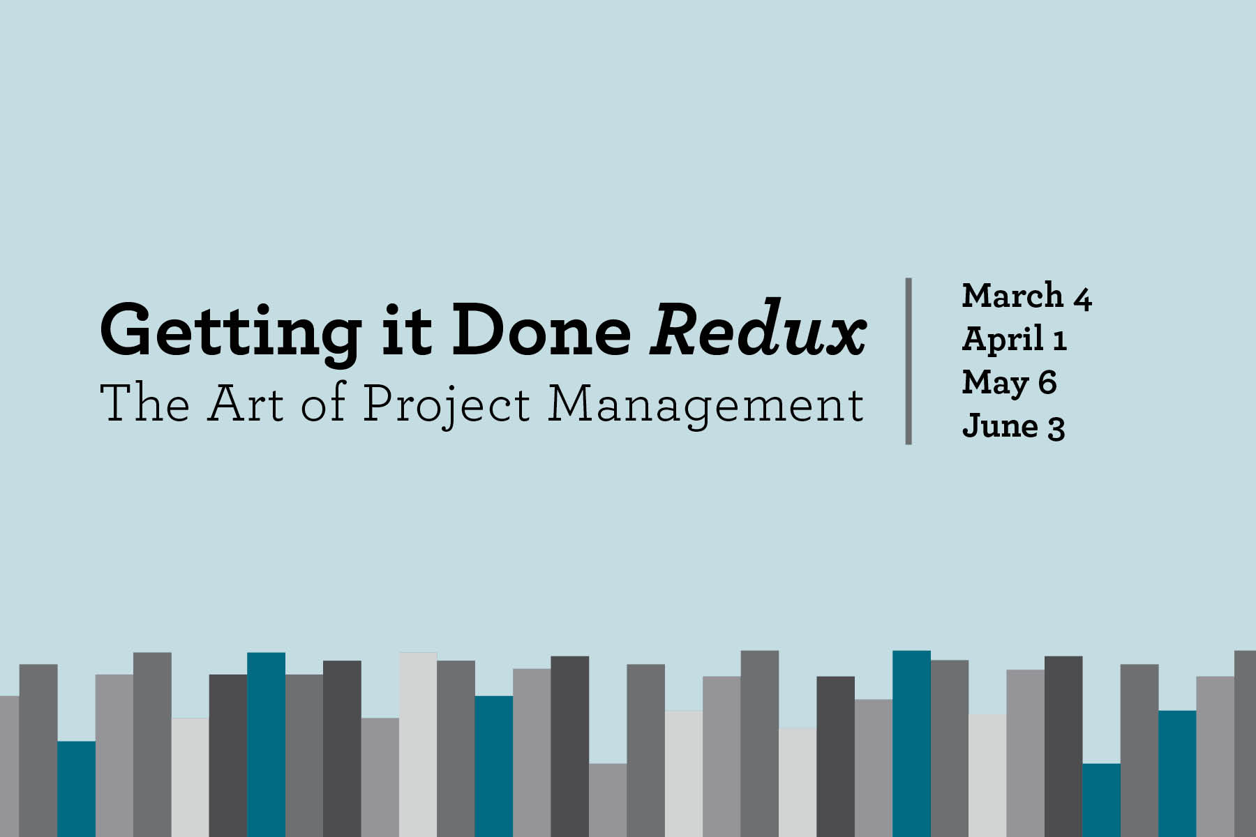 2020 Project Management Series