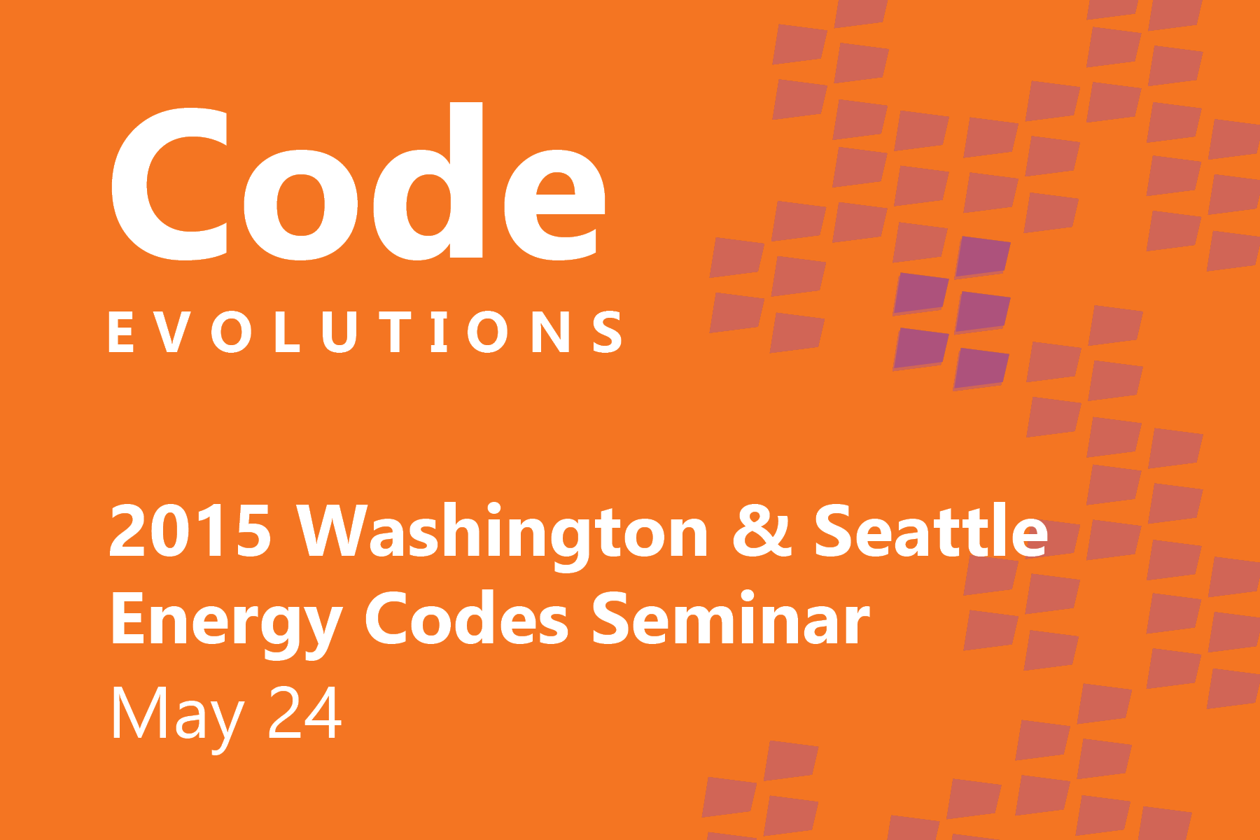 The City of Seattle and Washington State have enacted significant changes to the 2015 energy codes, which build upon additional changes already incorporated into the 2015 IECC.