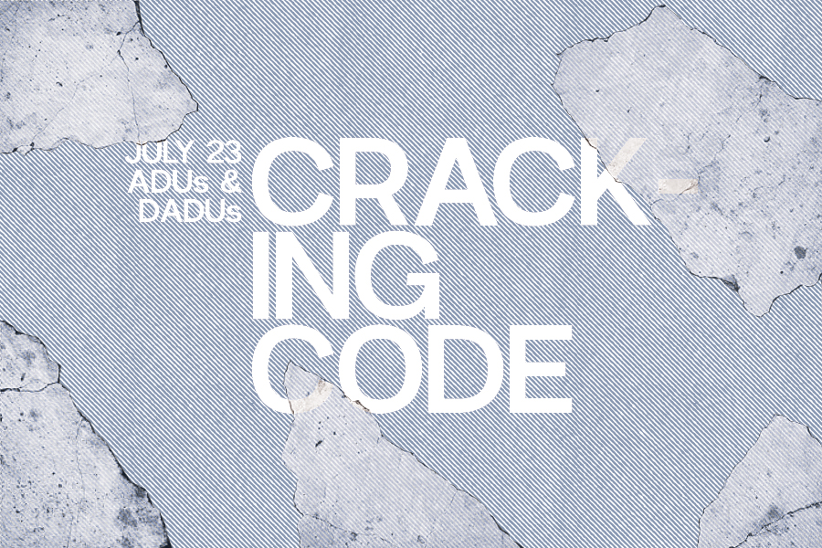 This page is intended only for participants of Cracking Code: Residential Code Rodeo - Residential Energy Code + ADU/DADUs.