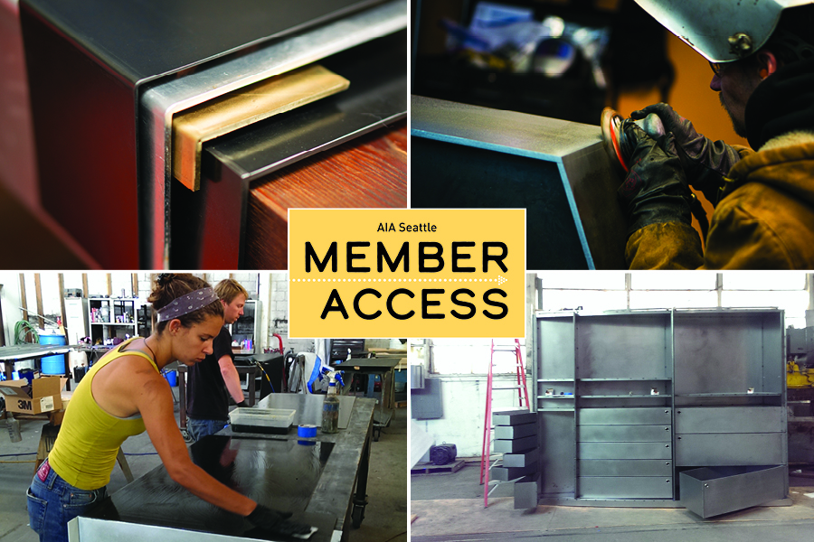 Metal experts from Decorative Metal Arts (DMA) will demonstrate and explain the technical aspects of steel and lead participants through a hands-on metal demonstration in this exclusive AIA Seattle Member Access event.