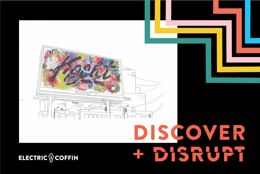 Discover + Disrupt - an exhibit at Center for Architecture and Design by Electric Coffin
