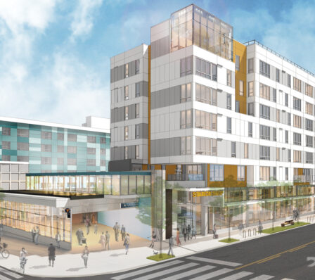 Capitol Hill TOD. Architecture by HEWITT.