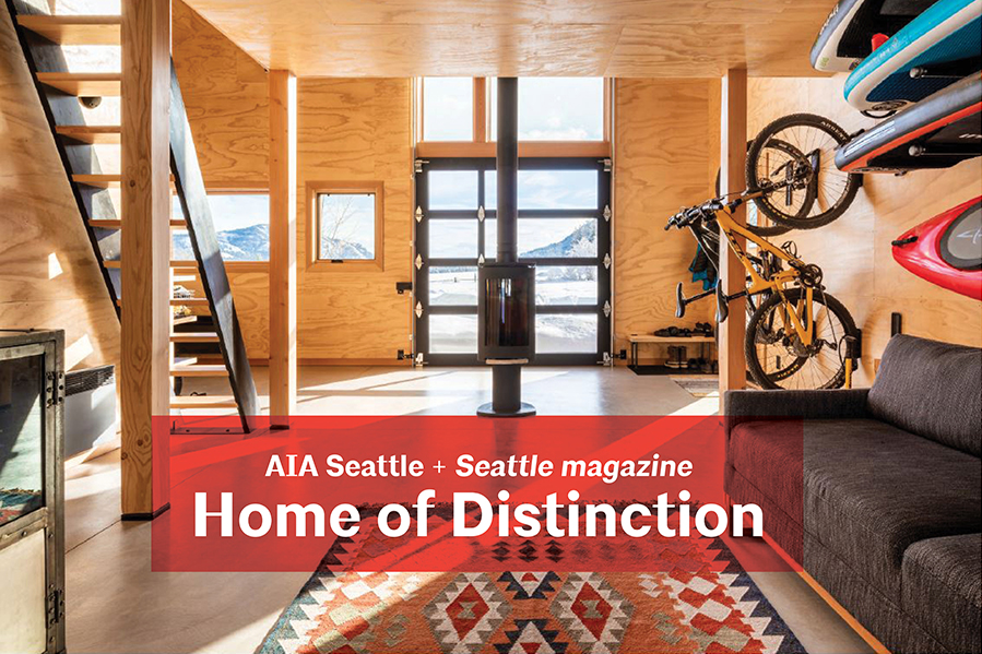 AIA Seattle partners with Seattle magazine to highlight exceptional residential design solutions.