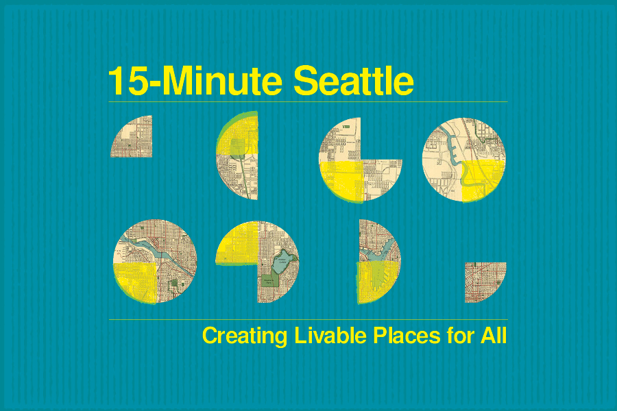 This series is a comprehensive look at how Seattle can become a 15-minute city where residents can work, shop, socialize, and recreate in one neighborhood – all within a short walk from their homes.
