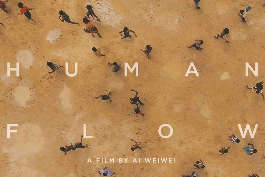 On April 29, Human Flow will be screened @ the Center and simultaneously across the United States and Canada. Immediately following, Ai Weiwei will participate in a livestream Q&A with audiences around the country.