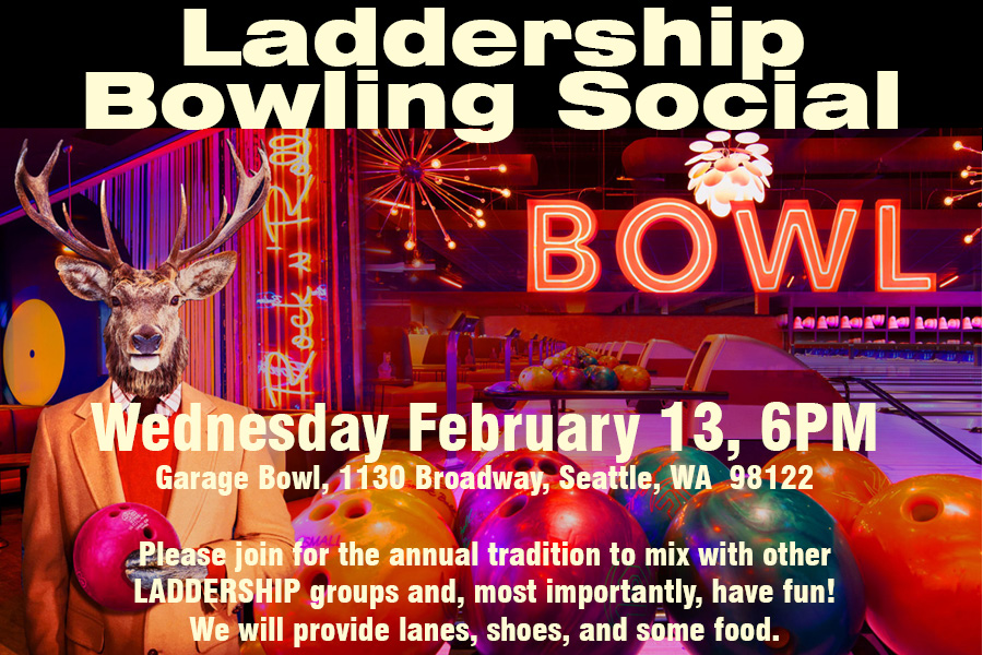 Join AIA Seattle Laddership for the annual winter bowling event!