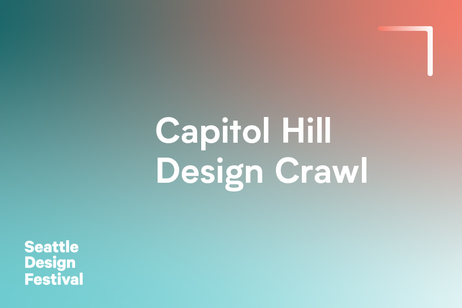 The Capitol Hill Neighborhood Design Crawl consists of concentrated events, open studios, exhibits, interactive workshops or participatory design interventions that are meant to activate and celebrate the neighborhood.