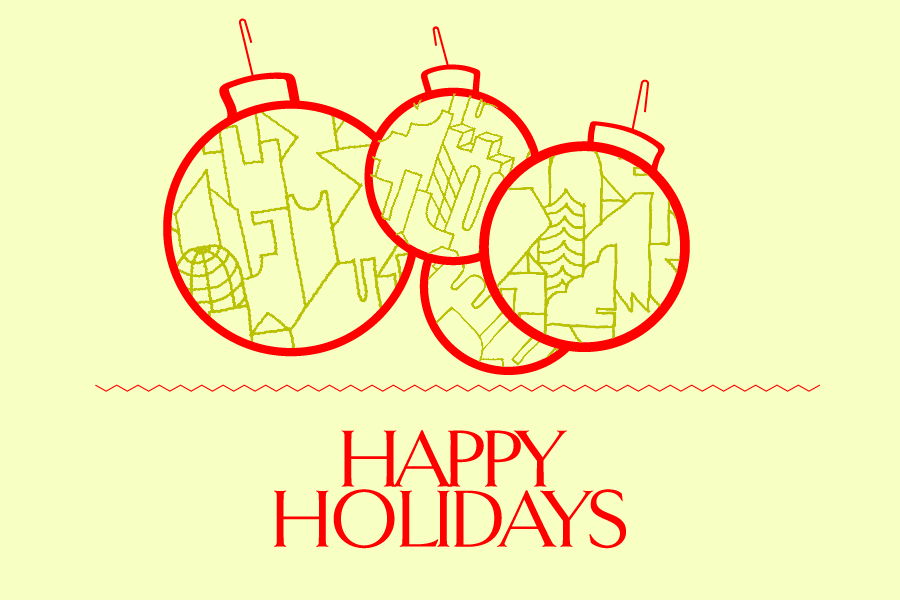 Happy Holidays - see you in the new year!