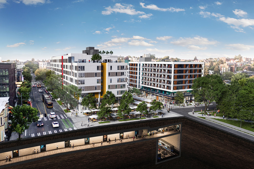 Schemata Capitol Hill TOD rendering