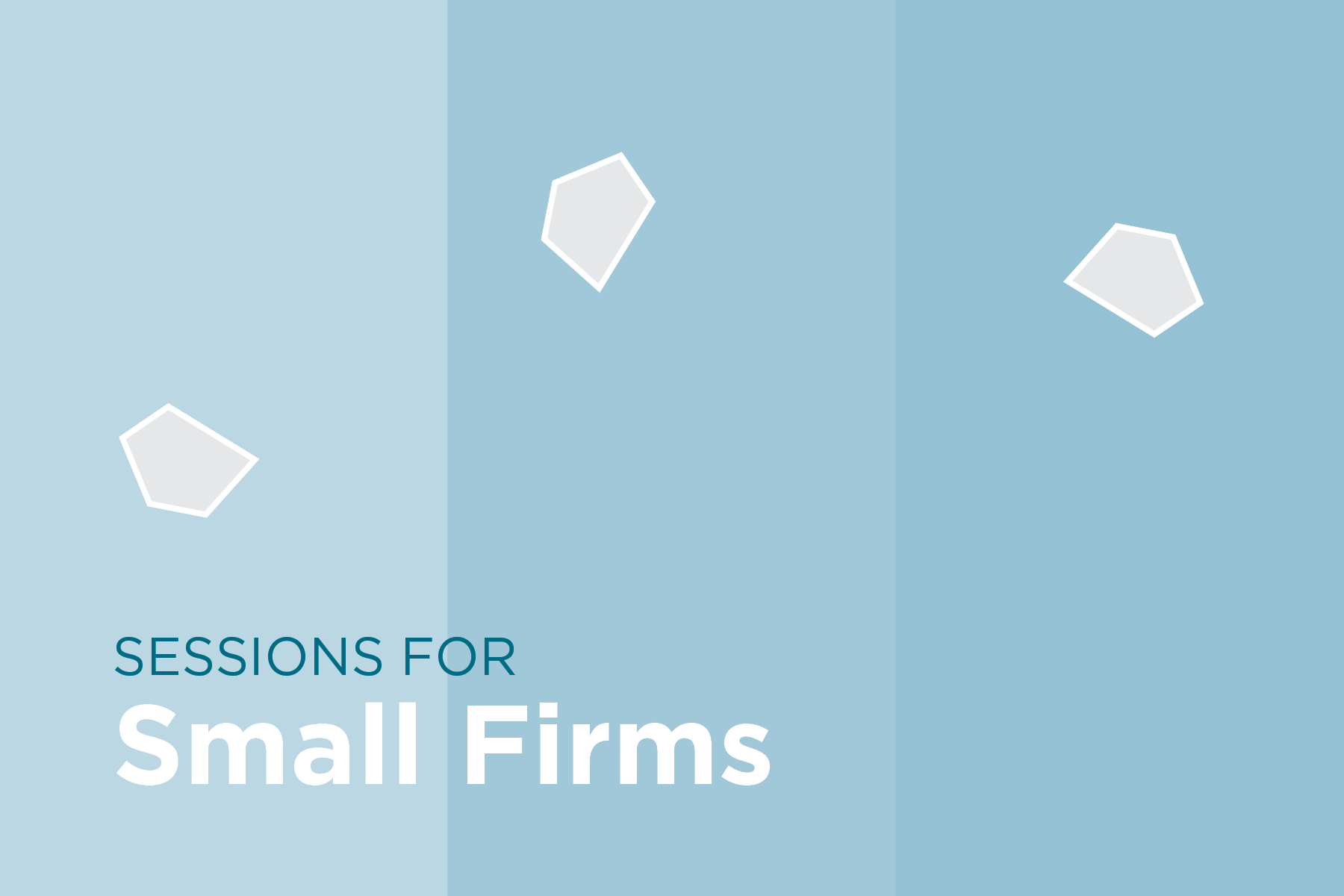 AIA Seattle is pleased to offer 3 individual half-day programs tailored to the needs and interests of small firm practitioners. Facilitated by industry experts consulting on a variety of topics from communications strategies to firm ownership transitions, Sessions for Small Firms kicks off summer 2019.