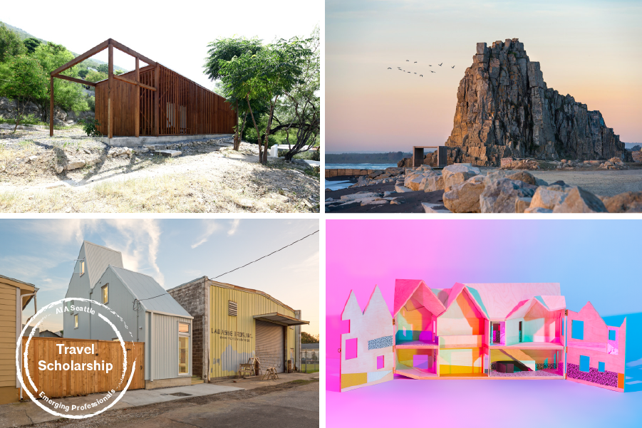 AIA Seattle Members or Associate Members who have graduated from an accredited architecture program within the last 7 years are eligible to submit to our Travel Scholarship program.