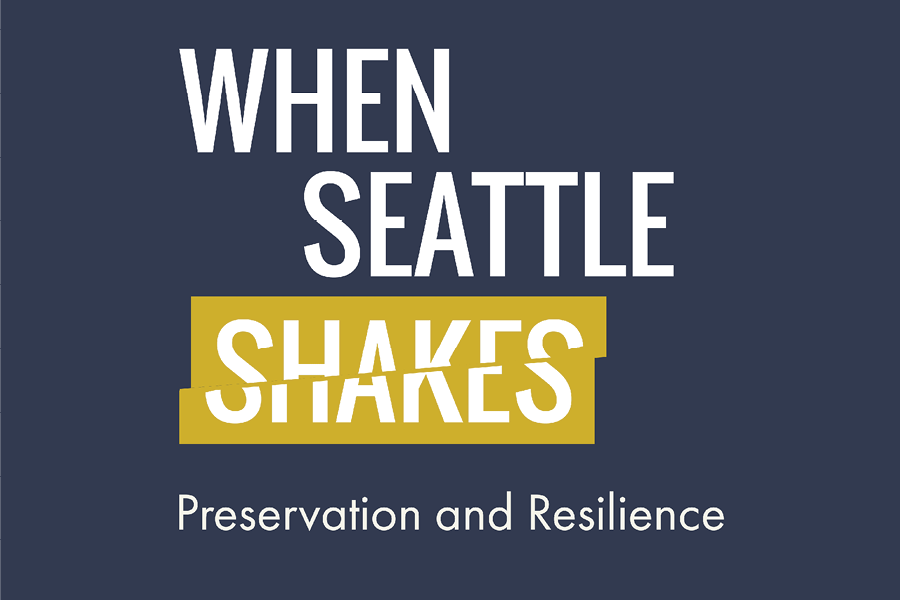 Join Seattle Architecture Foundation and the curator of AIA Seattle's When Seattle Shakes, Mary Waelder, for a conversation that touches on the personal, cultural, and structural consequences of living in a seismic zone.
