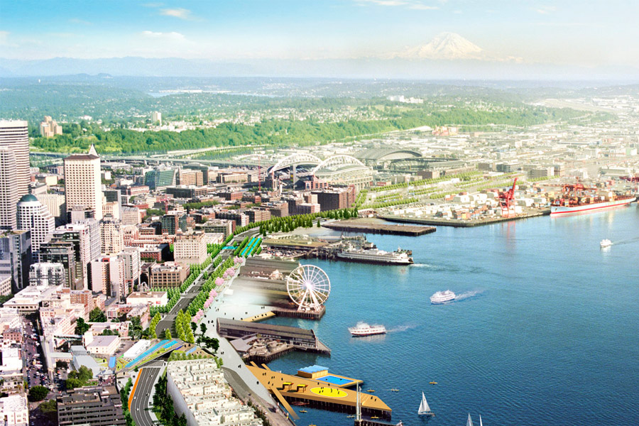 With Bertha behind us and the Alaska Way Viaduct scheduled to come down, the full Waterfront redesign is ready to kick into high gear.