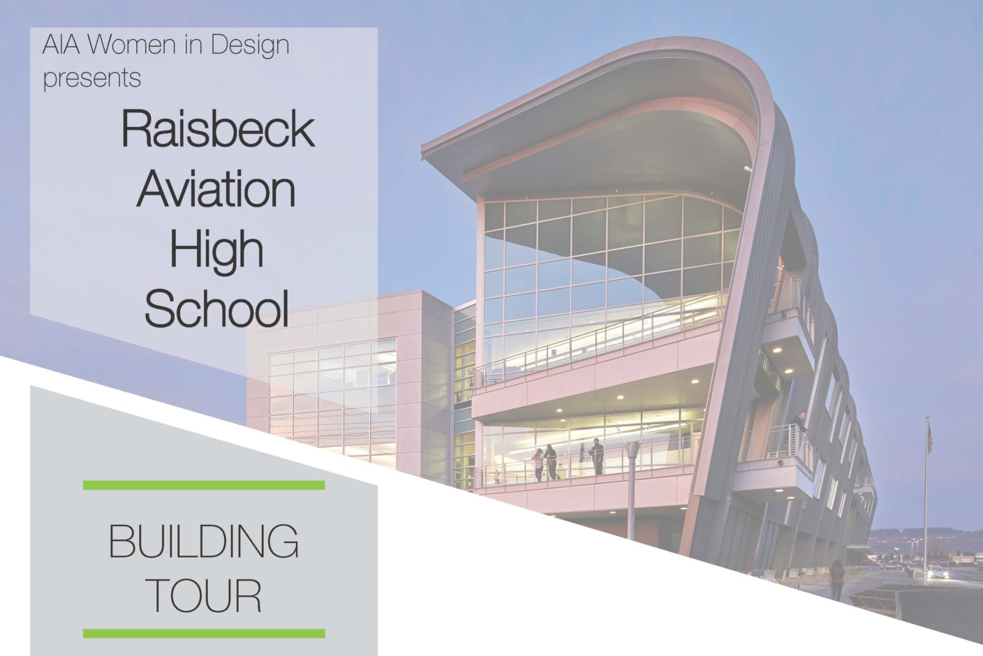 Join AIA Seattle's Women In Design committee to tour Raisbeck Aviation High School, where students receive hand-on, project-based learning centered on the aviation industry.